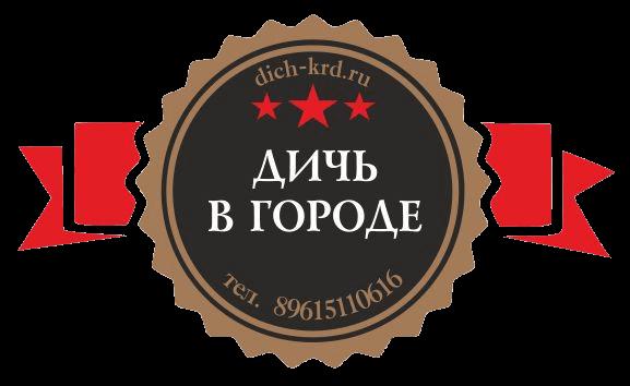 Дичь в городе логотип